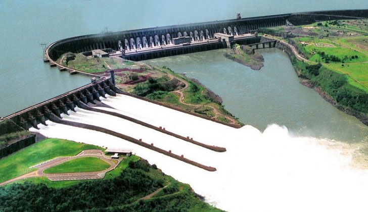 Le Brrage d'Itaipu